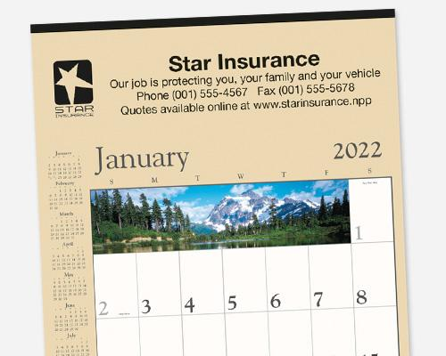 Promotional Large Commercial Wall Calendars
