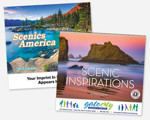 Promotional Wall Calendars with Logo